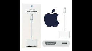 Unboxing Apple Lightning Digital AV Adapter