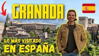 Así es la ALHAMBRA DE GRANADA, el monumento más visitado de España