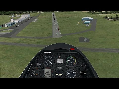 Cross country Gliding Adventure at Zell am See (LOWZ) in FSX
