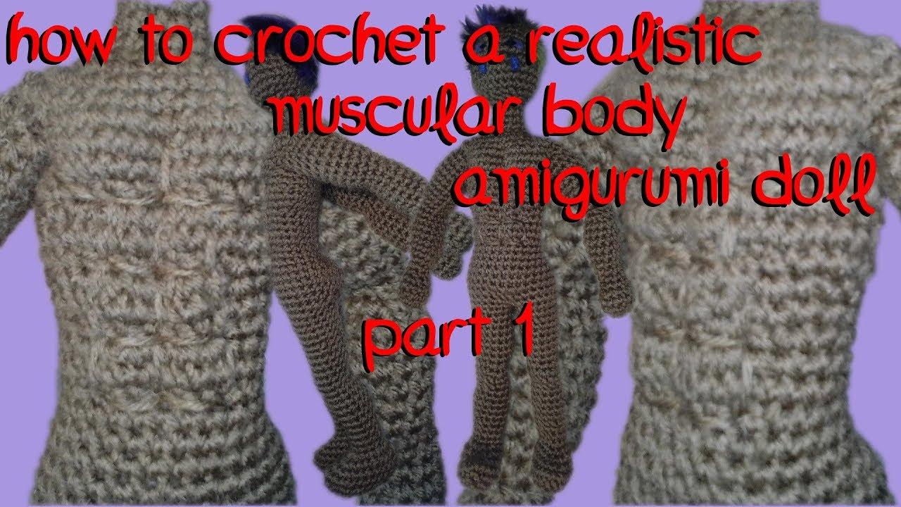 Realistic Crochet Doll Basic Body ( Video + pdf pattern) | Crochet ... | 720x1280