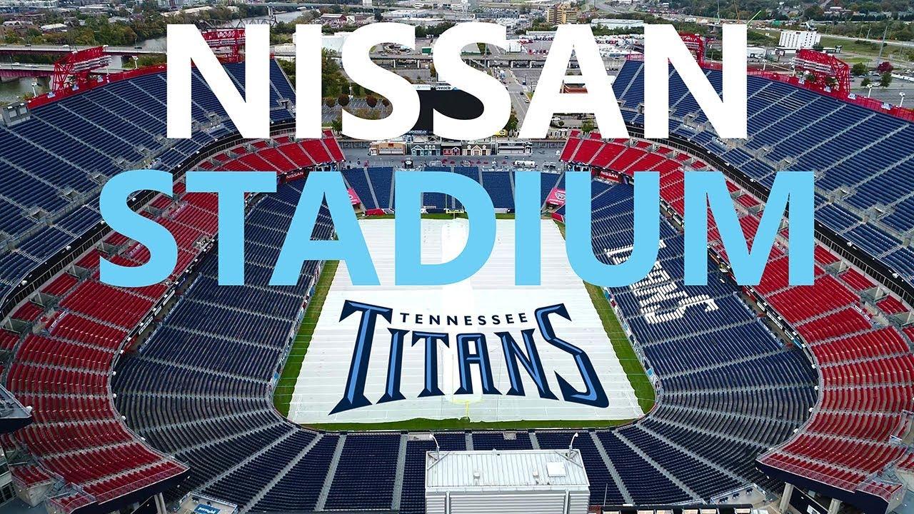 Drone Nissan Stadium Tennessee Titans Ken Heron 4k