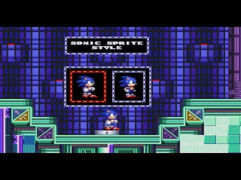 Sonic 2 SMTP - Options zone & Green Greens zone