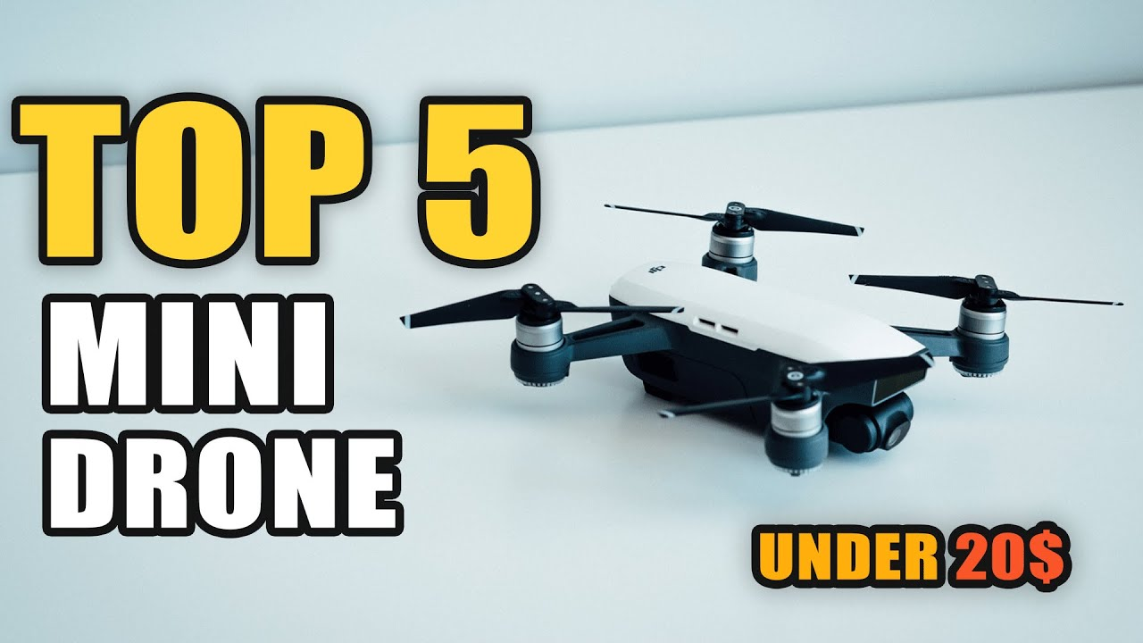 Top 5 Best Mini Drone 2020 On Aliexpress (Under 20$)