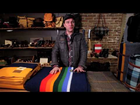 Doug Harris loves Pendleton Woolen Mills