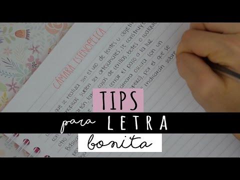 TIPS para mejorar tu letra