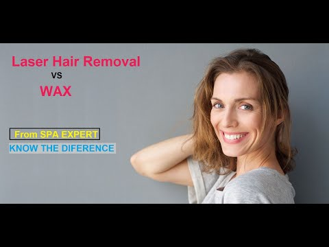 Compare Laser Hair Removal and WAXING