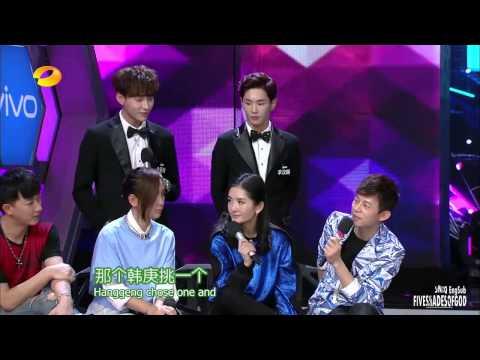 [ENGSUB]  Happy Camp UNIQ HanGeng Bibi Zhou Better Ver.