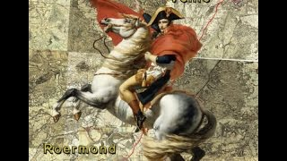 Op Napoleons kaarten navigeren van Roermond naar Venlo
