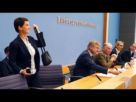 euronews (en français): Allemagne : à peine élue, la co-dirigeante de l'AFD s'en va