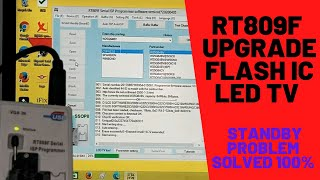 HOW TO UPDATE LED TV SOFTWARE BY RT809F