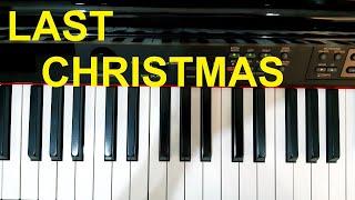 Hướng dẫn NHẠC GIÁNG SINH | LAST CHRISTMAS - Wham | Piano easy | Đinh Công Tú
