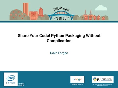 Image from Share Your Code! Python Packaging Without Complication