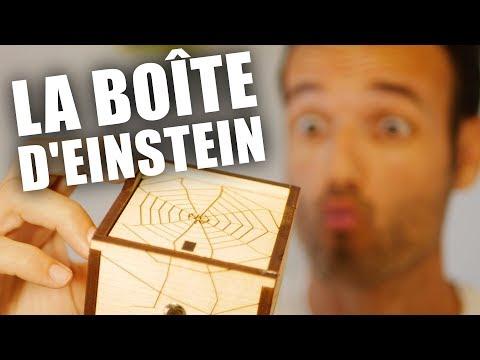 La très stylée boîte araignée d'Einstein