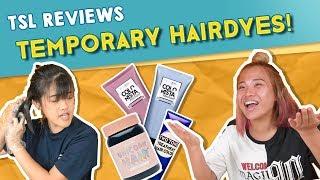 tsl reviews temporary hair dyes