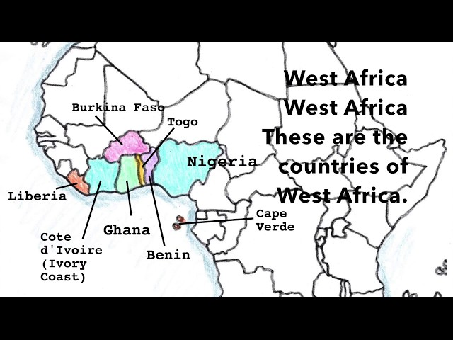 Africa Geography Song, West Africa Part 2