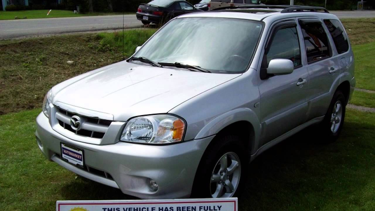 2006 mazda tribute gt v6 suv youtube. Black Bedroom Furniture Sets. Home Design Ideas