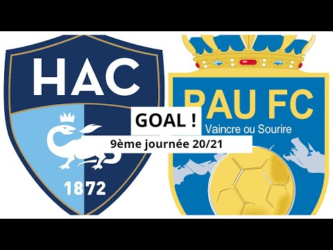 Le Havre Pau Goals And Highlights