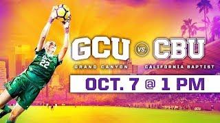 GCU Women's Soccer vs. California Baptist Oct 7, 2018