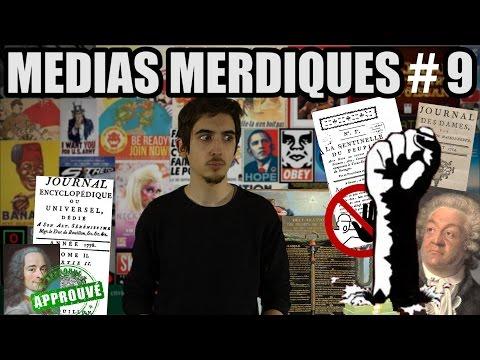 Médias Merdiques #9 : La presse et la Révolution Française - 1/2 (1780-1792)