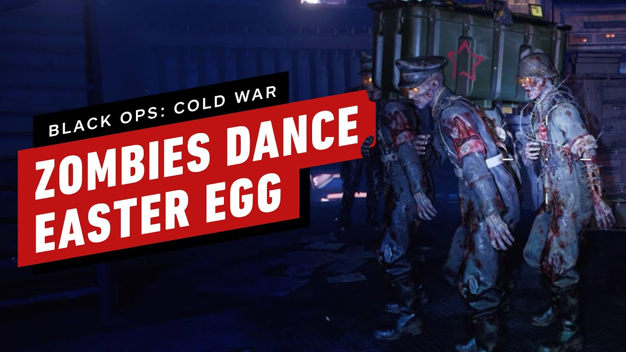 Black Ops: Cold War Zombies Coffin Dance Easter Egg Tutorial