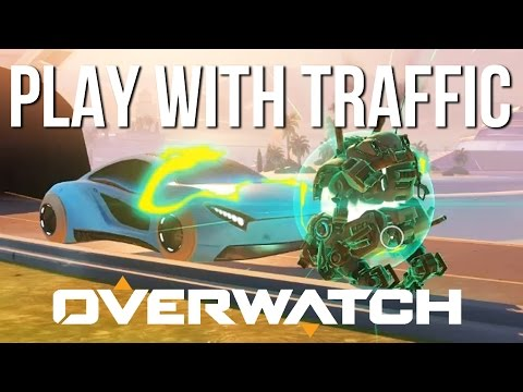 Overwatch - Play With TRAFFIC | NEW OASIS MAP