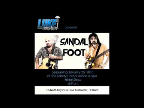 Sandal Foot at The Safety Harbor Resort Bridal Show