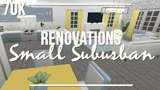 ROBLOX Bloxburg | Renovations: Small Suburban 70k