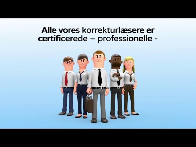 Erhvervskorrektur - korrektur med præcision