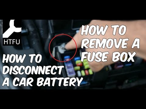 Removing a Fuse Box in a Dodge Durango, Grand Cherokee, and Dodge