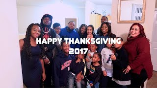 Day in a Life🦃 ThanksGiving 2017 | Black Family Vlogs
