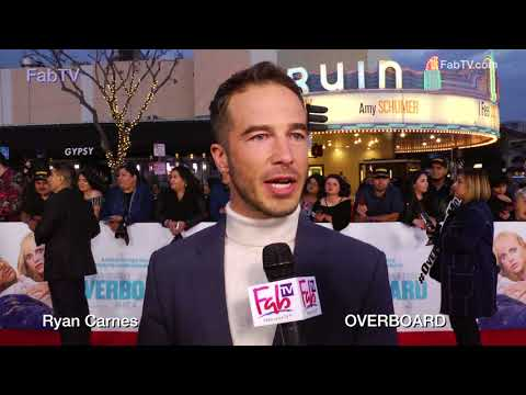 Ryan Carnes  'OVERBOARD' premiere on FabTV