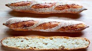 Pan baguette ¡Receta rápida!