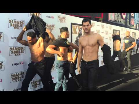 Magic Mike XXL Premiere