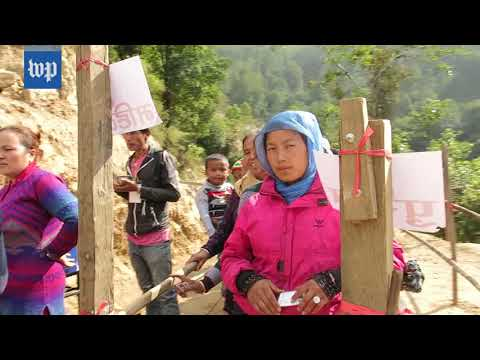 High in the Himalayas, Nepal hopes for stability after election