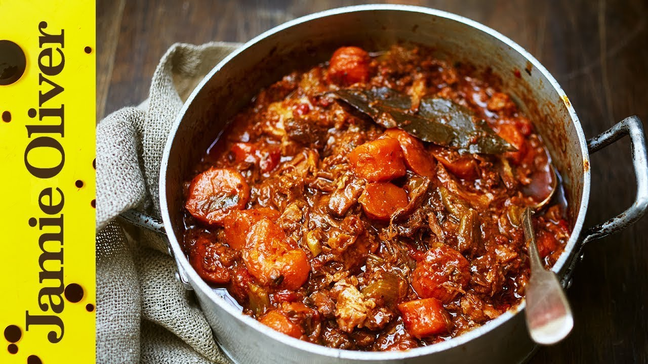 Jamie S Easy Slow Cooked Beef Stew Youtube