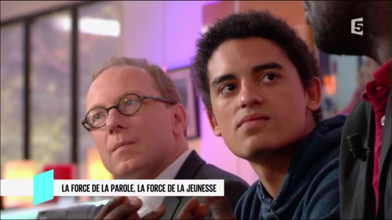 Bertrand Perier, EddyCmoa et Elhadj Touré pour le film