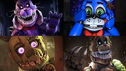 10 FIVE NIGHTS AT FREDDY'S ANIMATRONIC VOICES ANIMATED (FNAF ANIMATIONS)