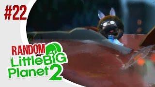 Shark Survival Returns - Little Big Planet 2: Random Multiplayer W/ The Derp Crew - Ep. 22