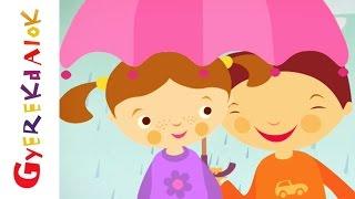 Komáromi kisleány (gyerekdal, rajzfilm gyerekeknek)