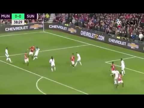 أهداف مانشستر يونايتد وسندرلاند
