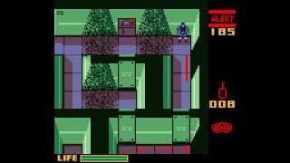 Game Boy Color Longplay [022] Metal Gear Solid