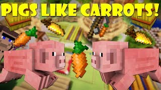 Why Pigs Like Carrots - Minecraft