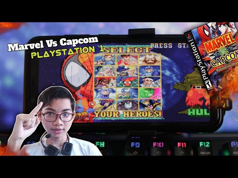 Marvel Vs Capcom: Clash Of Super Heroes Ps1 - 동영상
