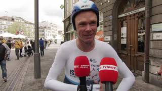 Chris Froome - Interview at the finish - Tour de Romandie Stage 5