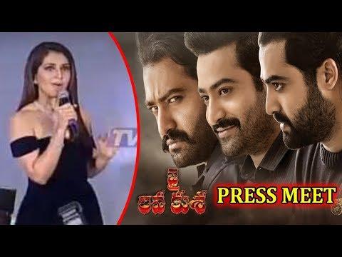 Raashi Khanna Speech At 'Jai Lava Kusa' Press Meet | TV5 News