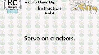 Vidalia Onion Dip - Kitchen Cat