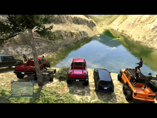 GTA Online - Van Society OffRoad Meet