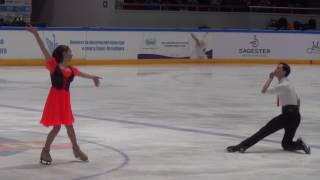 2017 Russian Jr Nationals - Anastasia Shpilevaya / Grigory Smirnov FD