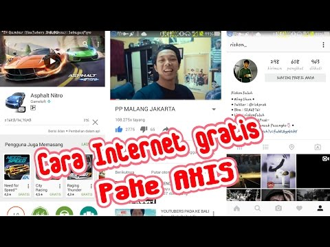 Cara Gratisan Internet Pakai AXIS with HTTP INJECTOR (Unlimited) Mp3