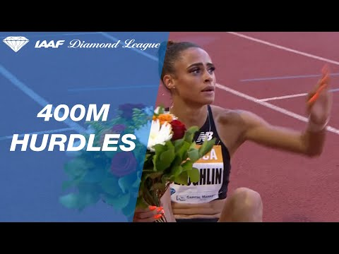 Sydney McLaughlin sets a world lead over a strong field in Monaco - IAAF Diamond League 2019